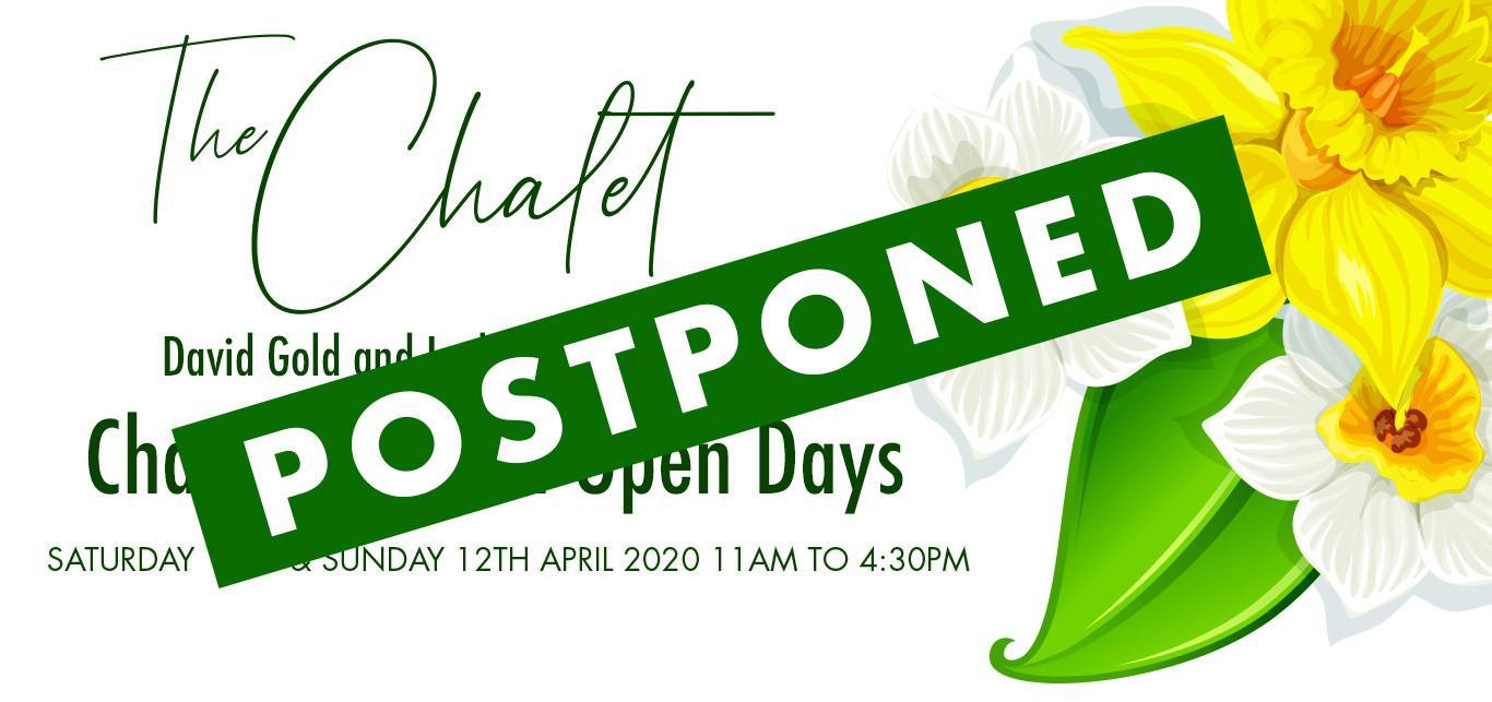 David Gold's Garden Open Day - Postponed until further notice